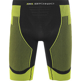 X-Bionic Effektor Power Running Pants Short Men Black/Yellow